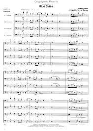 blue trombones