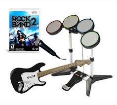 rock band 2 set