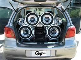 audio in car