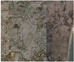 chennai satellite map
