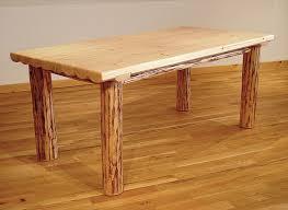 log dining tables
