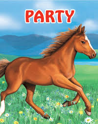 horse birthday invitations