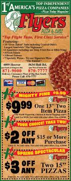 pizza flyers