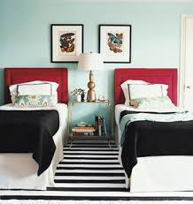 black red and white bedrooms