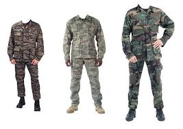 camouflage gear