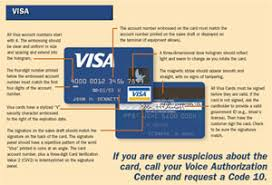 card issue number visa