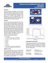 electro chemical sensor