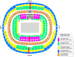 club wembley seating plan