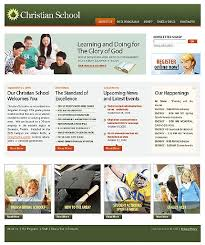school web page templates
