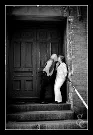 black and white photos of couples