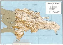 republique dominicaine carte