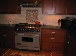 Mahogany Backsplash