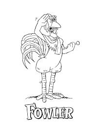 chicken run fowler