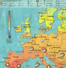 weerkaart europa