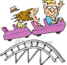 clipart roller coaster