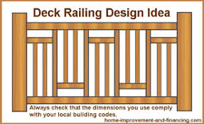 deck railings design