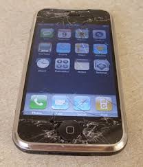 cracked screen ipod