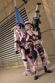 pink marine