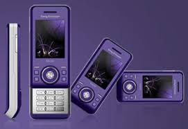 purple sony ericsson s500i