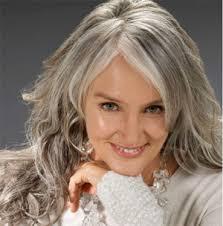 grey hair women