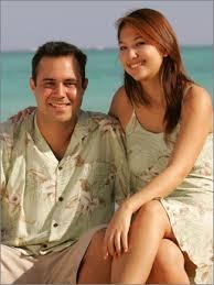 green hawaiian shirt