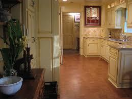 cork floor kitchen