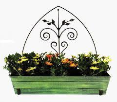 iron flower box