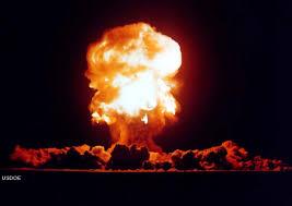 atomic explosions