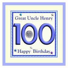 100th birthday letter