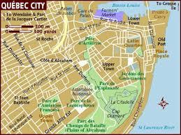 quebec city maps