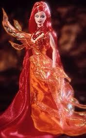 dancing fire barbie