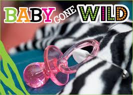 modern baby shower centerpieces