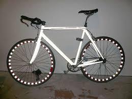 colored bike rims