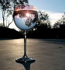 italian wine glass