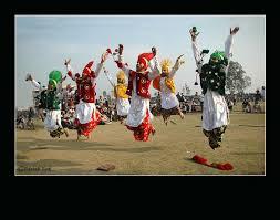 punjabi bhangra dance