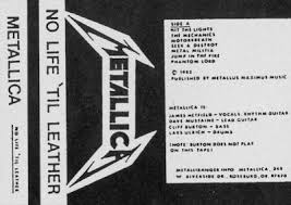 Metallica - No Life 'til Leather