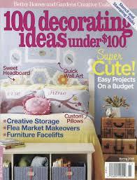 100 decorating ideas under $100