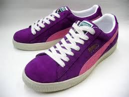 puma clyde purple