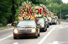 funeral flower tributes