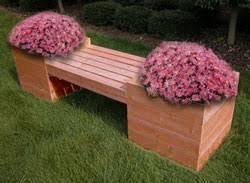 planter benches