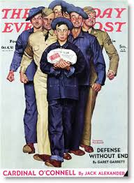 norman rockwell post covers