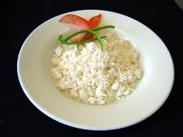 rice steamed