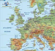 europe city map