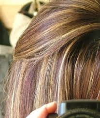 hair color chunking