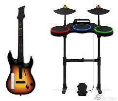 guitar hero world tour wii instruments