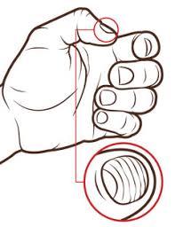 horizontal ridges fingernails