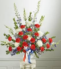 memorial day flower arrangements