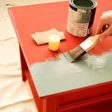 distressed paint finish