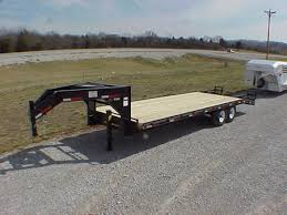 goose neck flatbed trailers