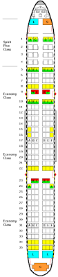airbus a321 seating plan